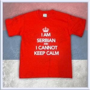 KIDS - I am Serbian and I cannot keep calm RED