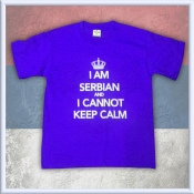 KIDS - I am Serbian and I cannot keep calm BLUE