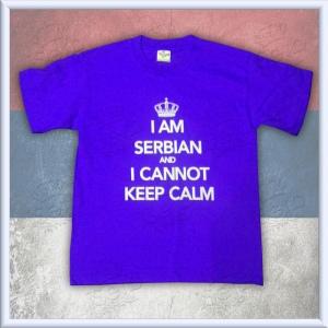 KIDS - I am Serbian and I cannot keep calm BLUE