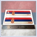 SERBIA Domed Decal