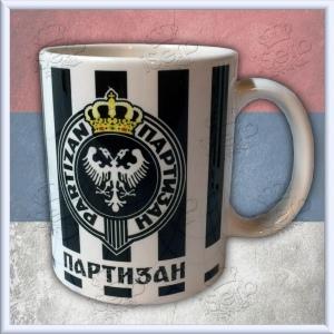 PARTIZAN - mug - solja
