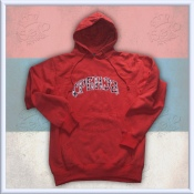 Srbija Red Hooded Sweatshirt