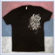 "Black ""Affliction"" Srbija V-Neck"