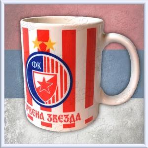 Red Star - Crvena Zvezda mug