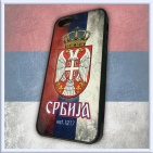 iPhone 5/5S slim SERBIA case