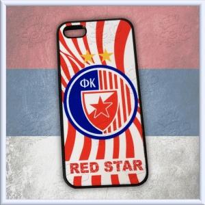 iPhone 5/5S slim Red Star case